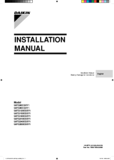 UATQ-CGXY1 Installation Manual EN-AR